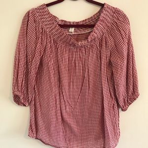 Old Navy Off the Shoulder Red Top